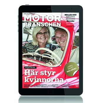E-tidning digital läsning Motorbranschen